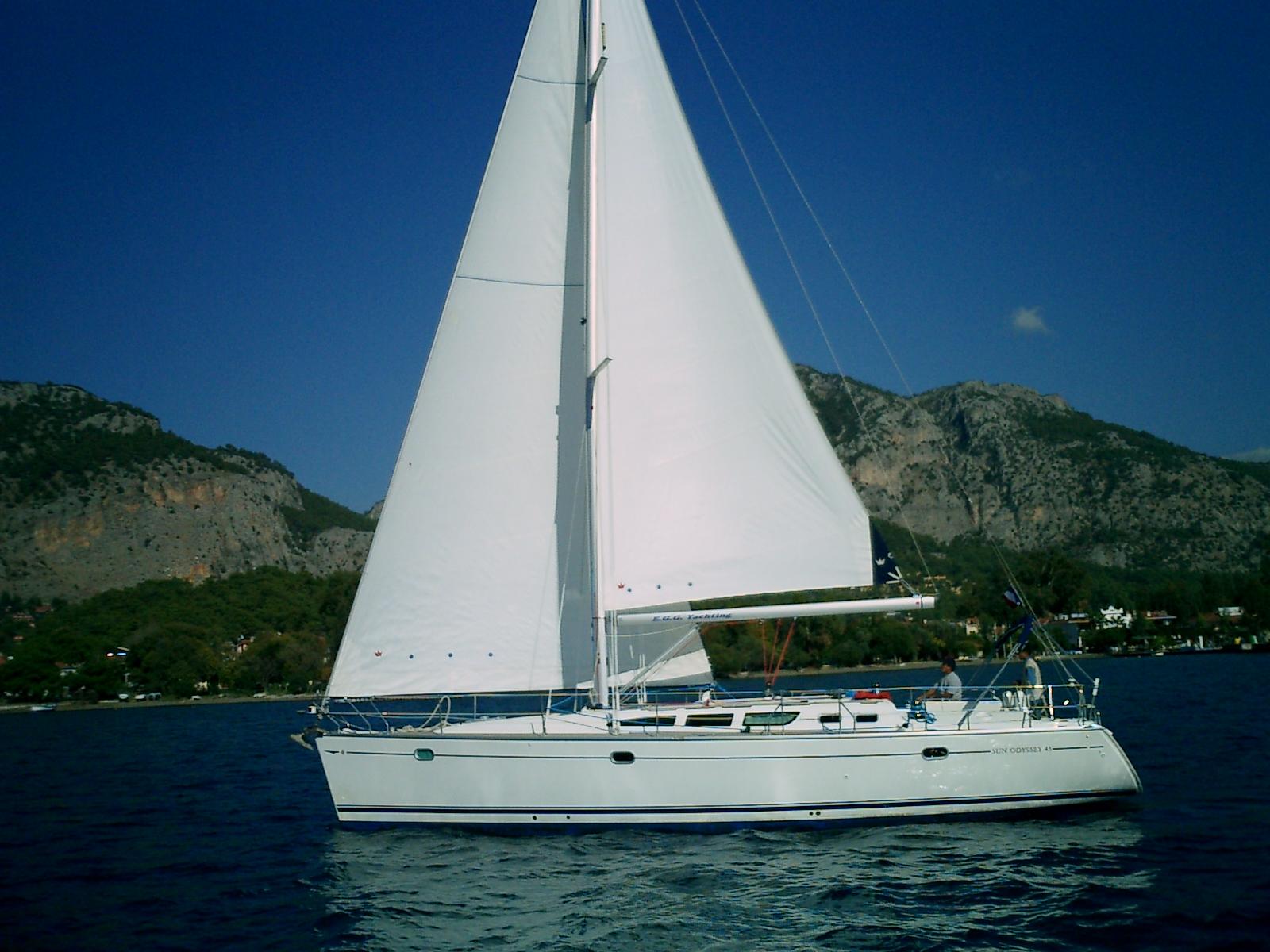 Sun Odyssey 43 – 3 cab.