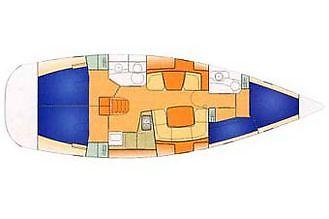 Navalia - Imbarcazione Sun Odyssey 43 DS 10