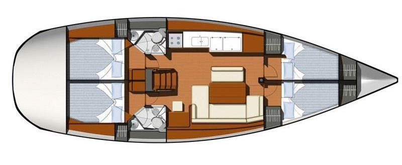 Navalia - Imbarcazione Sun Odyssey 44i 11