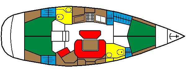 Navalia - Imbarcazione Sun Odyssey 45.1 9