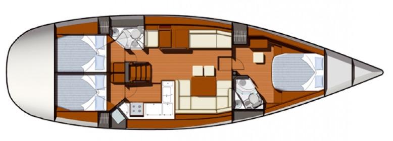 Navalia - Imbarcazione Sun Odyssey 50 DS 11