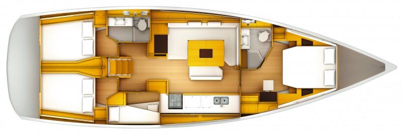 Navalia - Imbarcazione Sun Odyssey 509 12