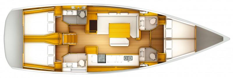 Navalia - Imbarcazione Sun Odyssey 509 13