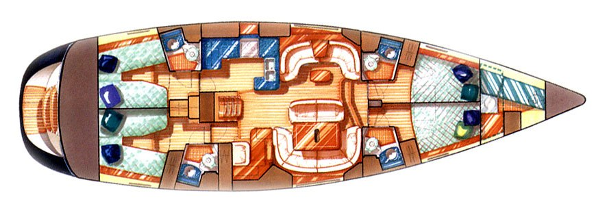Navalia - Imbarcazione Sun Odyssey 54 DS 10